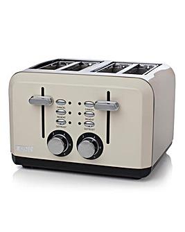 Haden Perth Sleek 4 Slice Cream Toaster