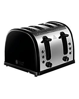 Russell Hobbs Legacy 4 Slice Blk Toast