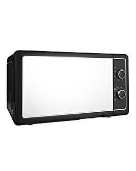 JDW 20Litre Manual Black Microwave
