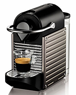 Nespresso Pixie Titanium Coffee Machine