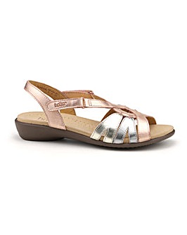 Hotter Flare Touch Close Sandal