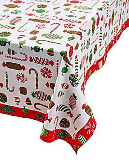 Christmas Treats Table Cloth 180x230cm