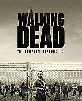 Walking Dead Season 1 to 7 Bluray