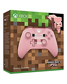Xbox One Wireless Minecraft Pig
