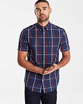 Ben Sherman SS Gingham Shirt Long