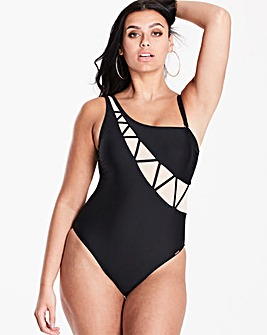 Figleaves Curve One Shoulder Swimsuit