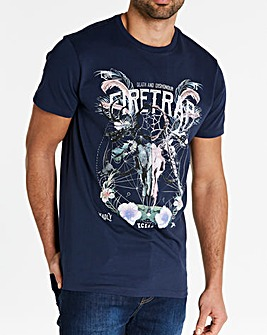 Firetrap Burgos T-Shirt Long