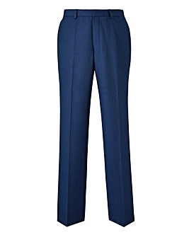 Burton London Blue Grid Trousers 32 In