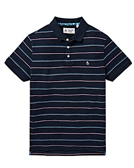 Original Penguin Stripe Polo Reg