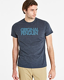 Original Penguin Spliced Logo Tee Reg