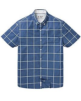 Original Penguin Window Check Shirt Reg
