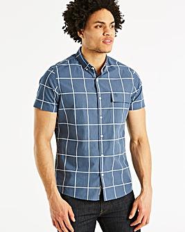 Original Penguin Window Check Shirt Long