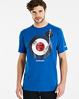Lambretta Vinyl T-Shirt Long