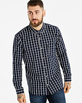 Lambretta Box Windowpane Check Shirt R