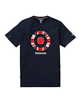 Lambretta Union Jack T-Shirt Long