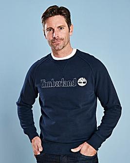 Timberland Dk Sapphire Logo Sweatshirt R