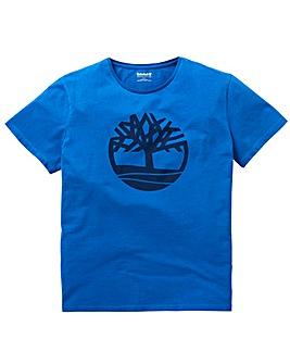 Timberland Cobalt Tree Logo T-Shirt R