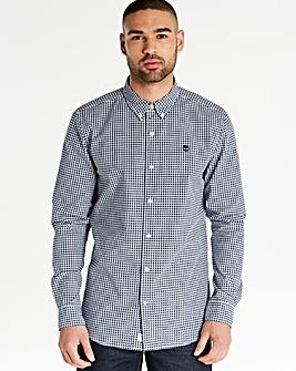 Timberland Poplin Gingham Shirt