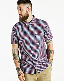 Lambretta MOD Check Shirt Long