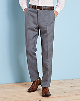 Farah Dark Grey Anti Stain Trouser 27in