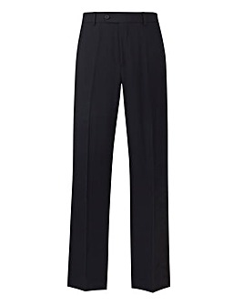 Farah Navy Stretch Twill Trouser 31in