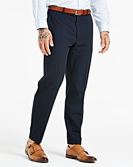 Farah Navy Stretch Twill Trouser 31in