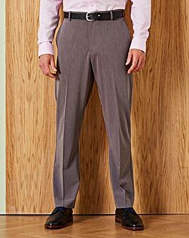 Farah Grey Stretch Twill Trousers 31in