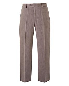 Farah Grey Stretch Twill Trousers 29in