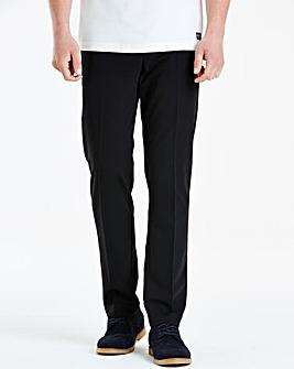 Farah Black Stretch Twill Trousers 29in