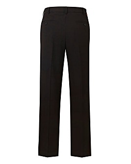 Farah Black Stretch Twill Trousers 31 in