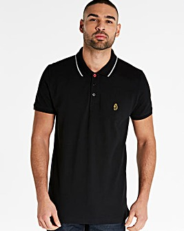 Luke Sport Black Mead Polo R