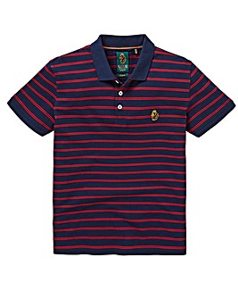Luke Sport Stripe Polo Long