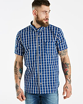 Lambretta Verb Check Shirt Long