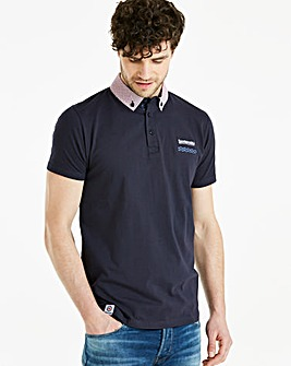 Lambretta Spot Pocket Polo Long