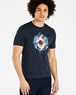 Ben Sherman Chevron T-Shirt Long