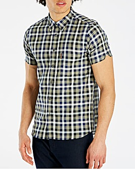 Ben Sherman Texture Check Shirt Regular