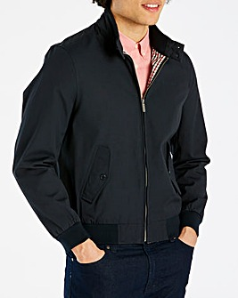 Ben Sherman Script Harrington Jacket