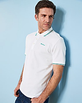 Ben Sherman Script Pique Polo Long