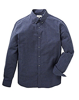 J by Jasper Conran Marl Grid Check Shirt