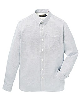 Hammond & Co. Sprig Sateen Print Shirt