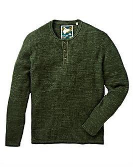 Mantaray Uneven Budding Grandad Shirt
