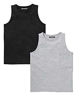 French Connection 2 Pack Vests