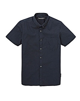 French Connection Mini Dot Print Shirt