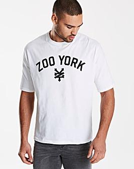 Zoo York White Parkin T-Shirt L