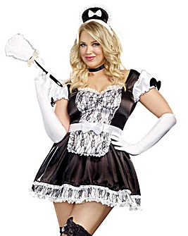 Dreamgirl Maid For You Dress Up