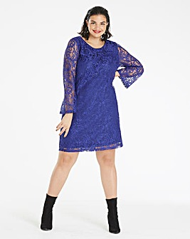Cobalt Lace Dress