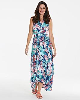 High Low Wrap Dress