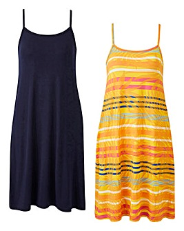 Pack of 2 Cami Dresses