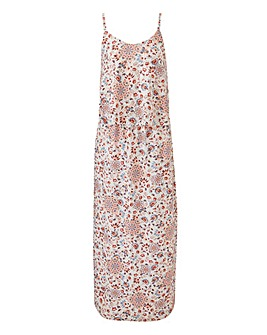 Petite Layer Maxi Dress