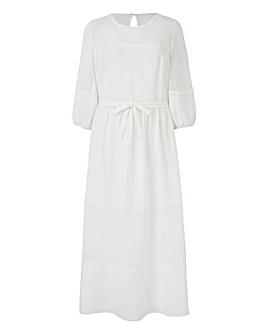 Petite Puff sleeve Dress
